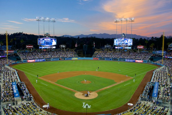 Dodger Stadium Evening