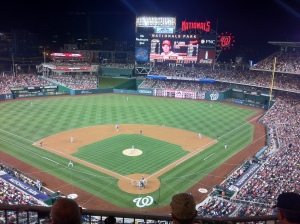 Nationals Park night