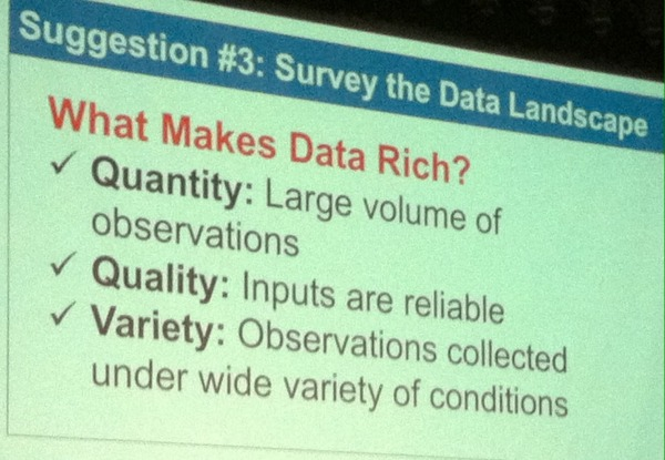 Nate Silver What Makes Data Rich