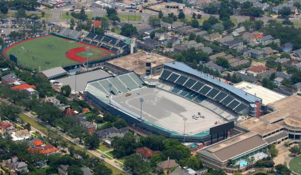 New Tulane Stadium