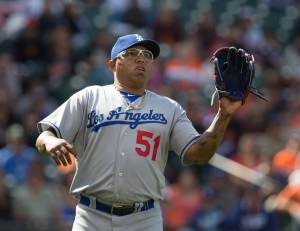 Free agent Relief Pitcher Ronald Belisario