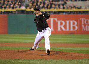 Pirates pitcher Edinson Volquez