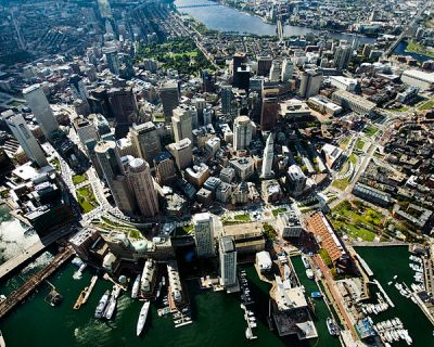 Boston From Above 2024 Olympics
