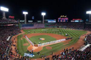 Fenway Park Baseball Olympics
