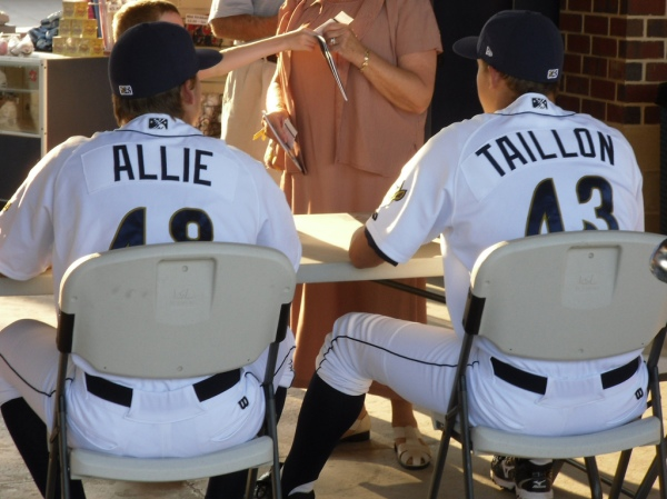 Stetson Allie and Jameson Taillon
