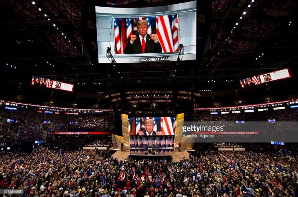 Donald Trump, Republican National Convention